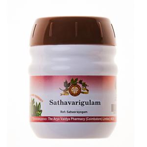 Шатавари Гулам Арья Вадья Фармаси (Sathavari Gulam Arya Vaidya Pharmacy), 1 упаковка по 200 грамм