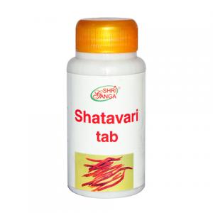Шатавари Шри Ганга (Shatavari Shri Ganga), 1 упаковка по 120 таблеток