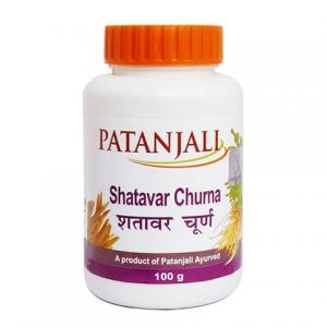 Шатавари Чурна Патанджали (Shatavar Churna Patanjali), 1 упаковка по 100 грамм