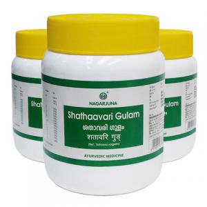 Шатавари Гулам Нагарджуна (Shathaavari Gulam Nagarjuna), 3 упаковки по 500 грамм