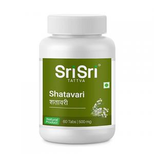 Шатавари Шри Шри Аюрведа (Shatavari Sri Sri Ayurveda), 1 упаковка по 60 таблеток